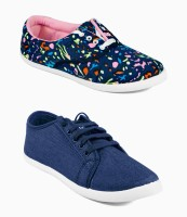 Asian Canvas Shoes(Multicolor)