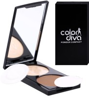 ColorDiva 101 Powder Compact  - 35 g(Beige) - Price 125 62 % Off
