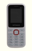 Mymax M13(White & Red) - Price 525 34 % Off