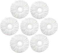 WCSE Mop refill (set of 7) Wet & Dry Mop(White)