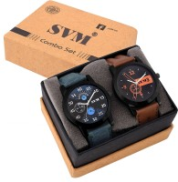 SVM Set Of Two Combo Watch - For Boys