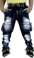 AD & AV Regular Boys Black Jeans