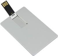 adoniz PLAIN CREDIT CARD 16 GB Pen Drive(White)