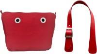 Doubleu Bag Prima Accessories - Medium - Red - Handle + Cosmetic Bag(Red)