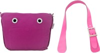 Doubleu Bag Prima Accessories - Medium - Pink- Handle + Cosmetic Bag(Pink)