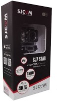 SJCAM 4K High Definition SJ 7 Star Sports and Action Camera(Black 12 MP)