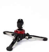 manfrotto MVMXPROBASE FLUIDTECH Base for XPRO Monopod+ Monopod Kit(Black & red, Supports Up to 8000 g)
