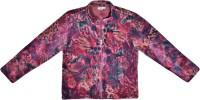 Caca Cina Full Sleeve Animal Print Girls Jacket