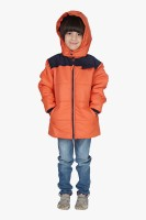 Beebay Full Sleeve Solid Boys Quilted Jacket
