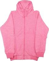Elle Kids Full Sleeve Self Design Girls Wind Cheater JACKET