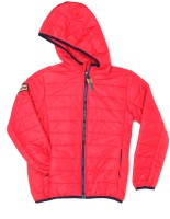US Polo Kids Full Sleeve Solid Boys Jacket
