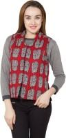 Vasstram Sleeveless Printed Womens Jacket