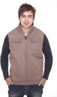 Trufit Full Sleeve Solid Mens Quilted Jacket