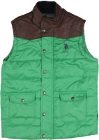 US Polo Kids Sleeveless Solid Boys jacket