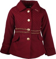 Cutecumber Full Sleeve Embellished Girls Jacket