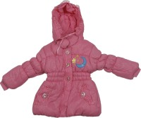 Addyvero Full Sleeve Self Design Girls Jacket
