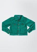 People Full Sleeve Solid Boys Jacket
