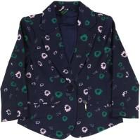United Colors of Benetton Full Sleeve Printed Girls Jacket