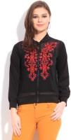 Global Desi Full Sleeve Solid Womens Jacket