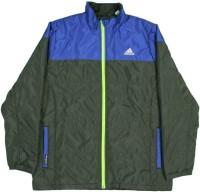 Adidas Full Sleeve Solid Boys Waded Jacket Jacket