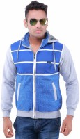 Oceanic Full Sleeve Striped Mens Jacket