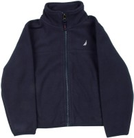 Nautica Full Sleeve Solid Boys Jacket