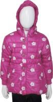 Addyvero Full Sleeve Floral Print Girls Jacket