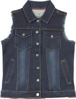 Allen Solly Junior Sleeveless Solid Boys Top Jacket