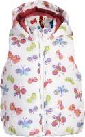 Addyvero Sleeveless Floral Print Baby Girls Jacket