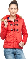 Campus Sutra Full Sleeve Solid Women Fleence Jacket