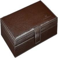 D'signer Watch Box(Brown, Beige, Holds 10 Watches)