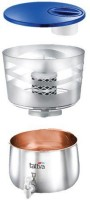 Prestige 49005 16 L Gravity Based Water Purifier(Stainless Steel Silver)