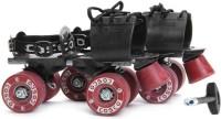 COSCO TENACITY SUPER Quad Roller Skates - Size 12C-8 UK(Maroon, Blue)
