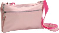 Tamirha Women Pink Rexine Sling Bag