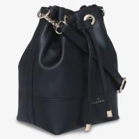 Ellemora Women Black PU Sling Bag