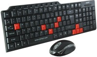 QHMPL 8810 Wired USB Laptop Keyboard(Black&Red)