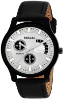 Mikado New Manchester Fashion casual Analog white dial watch for Men's and boy's Watch  - For Boys