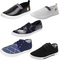 Axter COMBO(S)-700+717+349+690+692 Loafers(Multicolor)