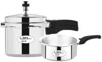 Leo Natura Eco 2 L, 3 L Pressure Cooker(Aluminium) Flipkart Rs. 699.00