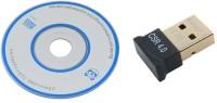 ReTrack 20M 4.0 CSR 2.0 3.0 Dongle Dual Mode Mini Wireless Bluetooth With CD USB Adapter(Black)