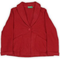 United Colors of Benetton. Full Sleeve Self Design Girls Jacket