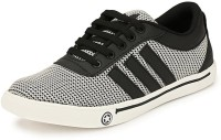KASHNAR Trottle Silver Casual Sneakers Shoes Casuals For Men(Grey, Black)