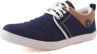 KASHNAR From Neso Rush Casual Sneakers Shoes Sneakers For Men(Blue, Brown)
