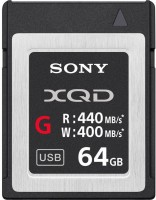 Sony G SERIES 64 GB XQD Card Class 10 400 MB/s  Memory Card
