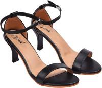 Jade Women Black Heels