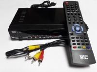 STC Mpeg-4Free To Air HD Set Top Box H-101 (LIFE TIME FREE) Plug and Play Satellite Radio