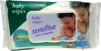 fostilo SENSITIVE ALOE & CHAMOMILE CLEANSING BABY WIPES(90 Pieces)