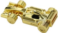 View nexShop World Champion Mini Racing Ferrari Shape Car USB Flash Drive 16 GB Pen Drive(Gold) Price Online(nexShop)