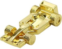 View nexShop Genuine Metal F1 Racing Car, Special Gift For Boys USB Flash Disk 8 GB Pen Drive(Gold) Price Online(nexShop)