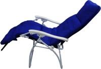 AdevWorld Fabric Manual Rocker Recliners(Finish Color - Blue)